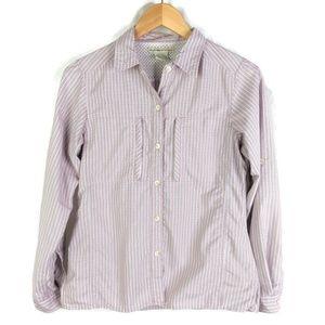 Exofficio Shirt Womens XS Adjustable Sleeve Vented